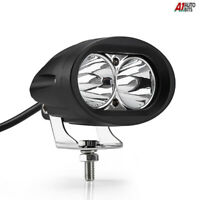2 LED Travail Feu Phare Blanc 20w Haute puissance pour Tout Terrain Camion Moto