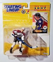 New Kenner Hasbro 1997 Starting Lineup NHLPA Peter Forsberg Colorado Avalanche