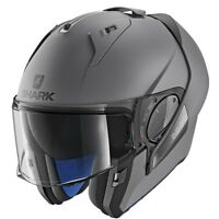 Shark Evo ONE 2 Plain Matt AMA Flip Up Modular Motorcycle Helmet + Pinlock ZQ