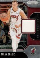 Goran Dragic 2019 Prizm #SS-GDR Sensational Swatches Jersey Relic Miami Heat