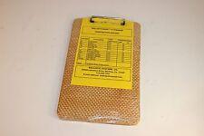 "Ballisticguard Clipboard - 9"" x 14"" Level III Ballistics - 44 Mag. - See Picture"
