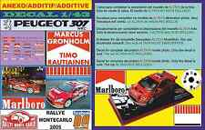 ANEXO DECAL PEUGEOT 307 WRC MARCUS GRONHOLM RALLYE MONTECARLO 2005 (06)