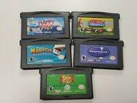 Nintendo Gameboy Advance Game Cartridge Only Lot Of 5 GBA