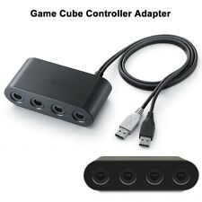 MAYFLASH 4 Ports GameCube Controller Adapter for Switch Wii U & PC USB New