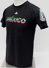 Mexico National Soccer Team Men's adidas T-Shirt - Black