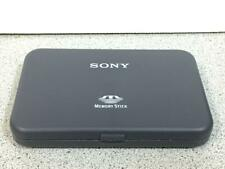Sony Memory Stick Carrying Case MSAC-A8 No Sticks Holds 4 + Adapter CASE ONLY