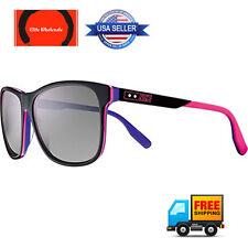 Nike MDL. 290 Sunglasses Grey with Violet Flash Lens Black/Pink/Purple MSRP $156