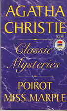 Classic Mysteries by Agatha Christie 1996 good Blue Geranium Four Suspects etc