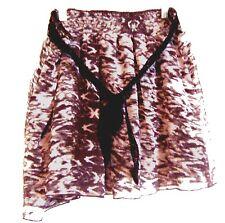Mudd Black & Gray Mottled Print Skirt Sz X-Large