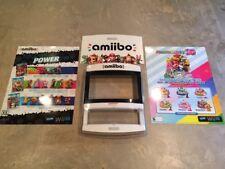 Amiibo Kiosk Nintendo Store Demo Display and Promo Posters Bundle Splatoon Mario