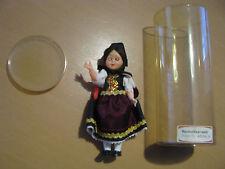 Trachtenpuppe Friedel Hochchwarzwald Schlafaugen 15 cm hoch Sammler Puppe Nr.2