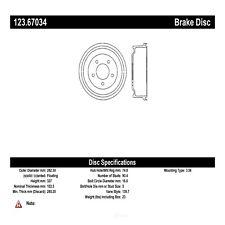 Brake Drum fits 1998-2002 Dodge Ram 1500 Van B1500  C-TEK BY CENTRIC