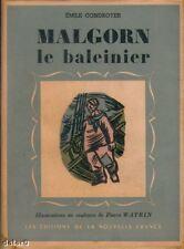 MALGORN le baleinier / CONDROYER / Nouvelle France