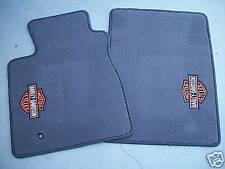 2001 2002 2003 FORD F-150 HARLEY DAVIDSON CARPETED FLOOR MATS 2 PIECE SET