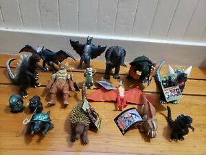 《Huge Lot》15 Rare Godzilla Gamera Rodan Gyaos Anguirus Mecha Space Figures
