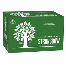 Strongbow Sweet Apple Cider Case 24 x 355mL Bottles