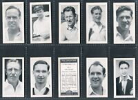 """KANE CONFECTIONERY 1956 """"1956 CRICKETERS"""" 1ST & 2ND TRADE CARDS - PICK YOUR CARD"""
