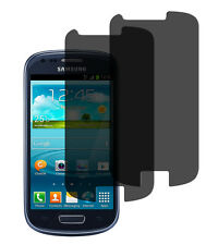 2 x Blickschutzfolie Samsung Galaxy S3 Mini Privacy Displayschutz Folie Antispy
