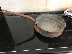 French vintage Gaillard Paris cooking pan