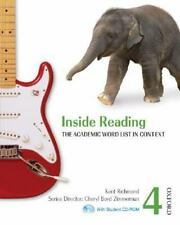 Inside Reading 4 Student Book Pack: The Academic Word List in Context, Boyd Zimm