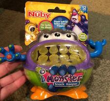Nuby Monster Snack Keeper NIP