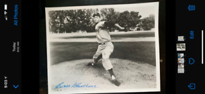 EWELL BLACKWELL NEW YORK YANKEES PHOTOGRAPH AUTOGRAPH w/ COA from STORE
