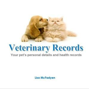 DOG CAT BOOK - Veterinary Records history medical