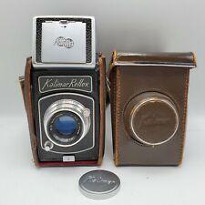 Kalimar Reflex Model SL 120 Film SLR Camera w/ Kaligar 80mm F3.5 Lens Fujita 66