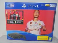EMPTY BOX ONLY - Sony Playstation 4 Slim FIFA 20 PS4 500GB Jet Black Console