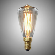 Vintage Edison Bulbs E14 220V ST48 Incandescent Bulbs 25W 40W 60W Filament Y1E2