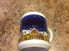 Christmas Holiday Coffee Mug Heat Activated Image Santa's Sleigh