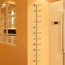 Wall Sticker Height Ruler Scale Chart Measure Kids Room Painting Growth Gifts