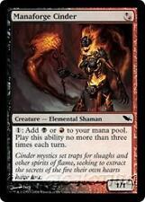 MANAFORGE CINDER Shadowmoor MTG Black/Red Creature — Elemental Shaman Com