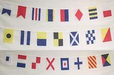 Naval Signal Flags / Flag SET - Total of 26 Flags - Marine/Maritime Code 24 Feet