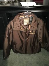 Enyce Jacket Sz Large, Mens Brown Enyce Jacket, Brown Zipper Jacket