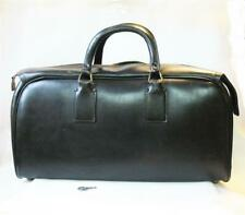 New listing Vintage Antique Leather Doctor Medical Bag With Lock & Key Black