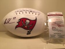 Mike Evans Signed / Autographed Tampa Bay Bucccaneers Football W/ COA JSA