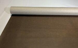 "Boat Automotive Upholstery Dark Brown Vinyl Fabric Marine Outdoor 30 Feet 54""W"