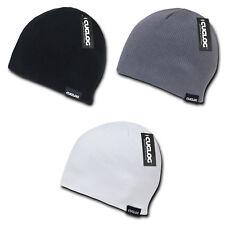 5505c08a63ffc Cuglog Lhotse Ribbed Knit Beanies Snowboard Ski Skull Hat Cap Warm Winter  Unisex