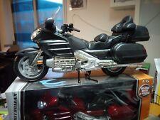 MOTORMAX MODELLINO HONDA GOLDWING 1800 SCALA 1:6 DARK GRAY SENZA SCATOLA