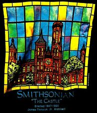 SMITHSONIAN THE CASTLE ERECTED 1847-1855 JAMES RENWICK Jr ARCHITECT MEDIUM SHIRT
