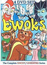 The Ewoks Complete Unreleased 1980's Cartoon Series 4 DVD Set. Free USA Shipping