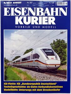 Eisenbahn Kurier Ausgabe 08-2021