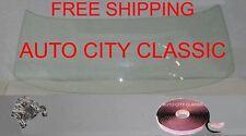 Clear Windshield Glass 1968-1969 Chevelle 2 DR HT Cutlass Tempest GTO Skylark