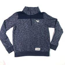 New listing Victorias Secret Pink Womens Pullover Sweater Sz Small Quarter Zip