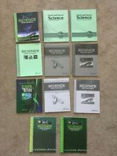 Abeka Gr 8 Science Earth & Space Text,Test,Quiz & Key, Activity Book Manual Set