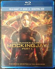 The Hunger Games: Mockingjay, Part 1 (Blu-ray/DVD, 2015, 2-Disc Set), NO RESERVE