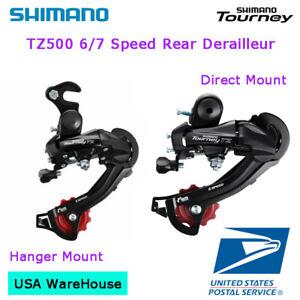 Shimano Tourney RD-TZ500 6/7 Speed Direct / Hanger Mount Rear Derailleur MTB