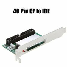 40Pin CF to IDE Male CompactFlash Connector Adapter Converter Hard Drive Card PZ