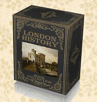 London - English History - Rare Books on DVDs - People Places Old City Maps A3